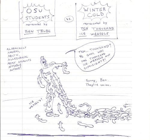 OSU Students vs Winter