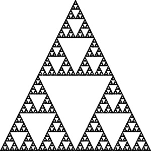Sierpinski Triangle (Chaos Game, 50K)