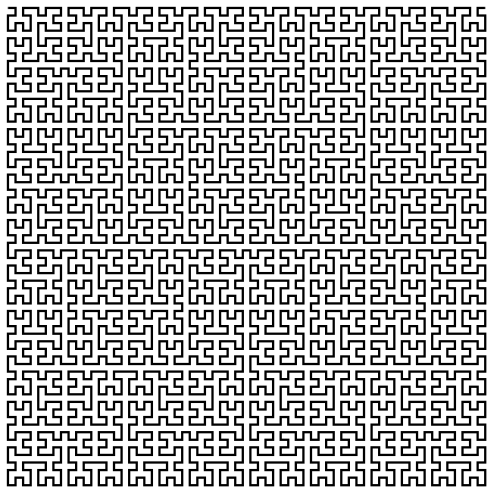 Fractals You Can Draw (The Hilbert Curve or What The