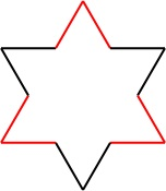 Koch Snowflake Second Stage