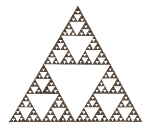 Sierpinski Triangle (Hand-Drawn)