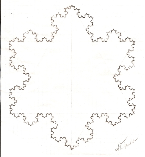 Koch Snowflake (Hand-Drawn)