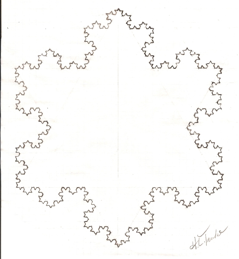 Koch Curve (Hand-Drawn)