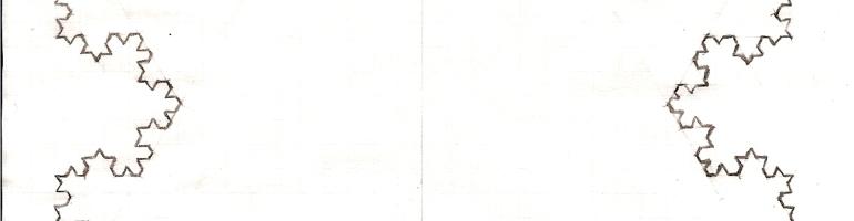 Koch Curve (Hand-Drawn)