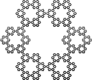Sierpinski Hexagon (Chaos Game, 50K)