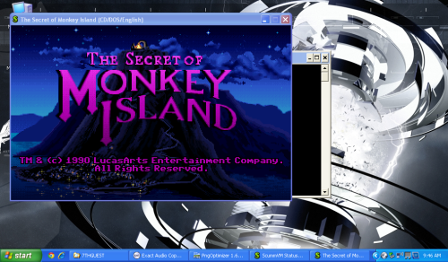 Monkey Island Running