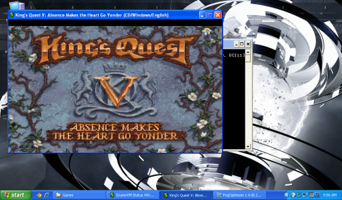King's Quest V Running