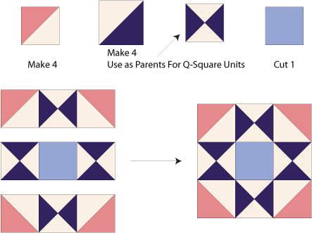Quilt Patterns Ohio Star Blocks My Quilt Pattern
