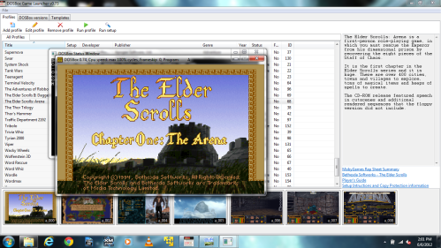 The Elder Scrolls Running