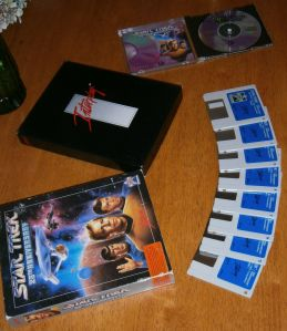 Star Trek 25th Disks