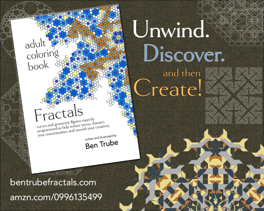 If You Enjoyed This Post And Would Like To Learn More About Fractals Check Out My Adult Coloring Book Available On Amazon